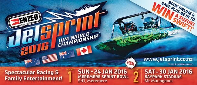 ENZED 2016 UIM Jetsprint World Championship - ROUND 1