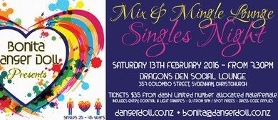 Mix & Mingle Lounge – Singles Night