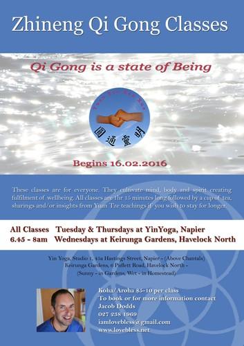 Zhineng Qi Gong Classes - Napier - Eventfinda