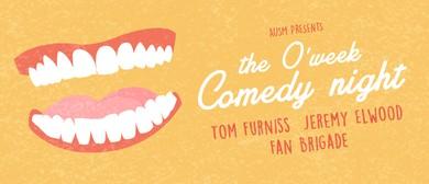 AuSM O'Week: Comedy Night