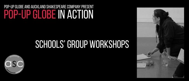 Pop-up Globe In Action: Schools' Group Workshops