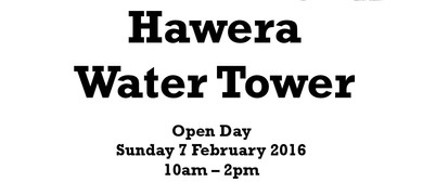 Hawera Water Tower Open Day