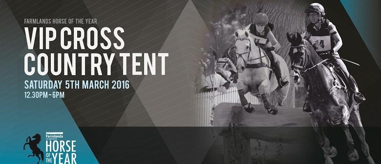International Cross Country VIP Tent