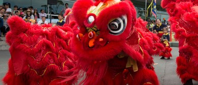 Parnell Chinese New Year - Lion Dance Performances