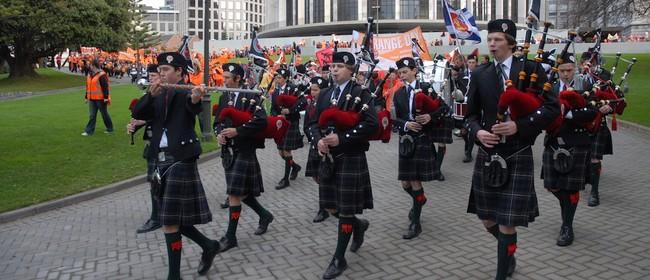 Scots College Centenary Parade