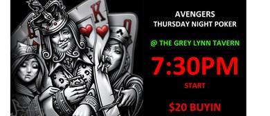 Thursday Poker Night