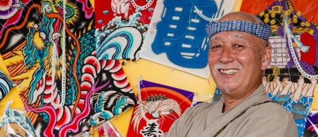 Kite Making Workshop (Wgtn) - Mikio Toki