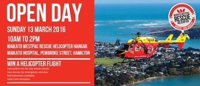 Waikato Westpac Rescue Helicopter Open Day