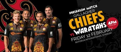 Gallagher Chiefs v Waratahs PreSeason Match