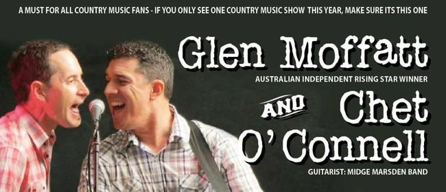 Glen Moffatt and Chet O'Connell