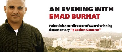 "An Evening With Emad Burnat - ""5 Broken Cameras"""