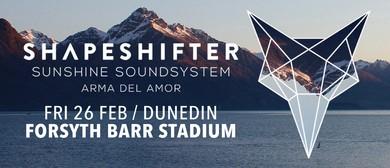 Shapeshifter, Sunshine Sound System & Arma del Amor