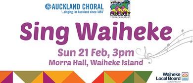 Sing Waiheke