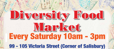 Diversity Food Market On Victoria Street