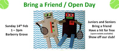Bring a Friend / Open Day