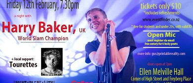 A Night With : Harry Baker (UK) - World Slam Champ