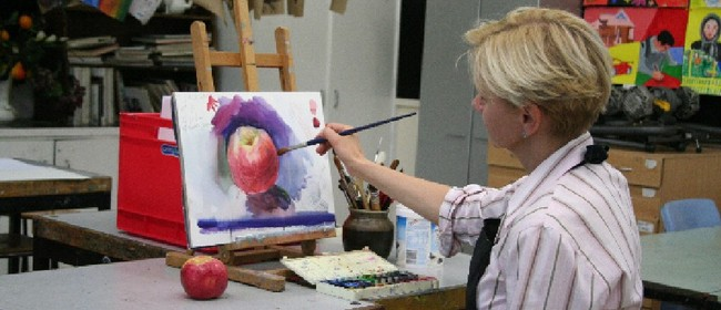 Painting With Watercolours Workshop (Weekend)