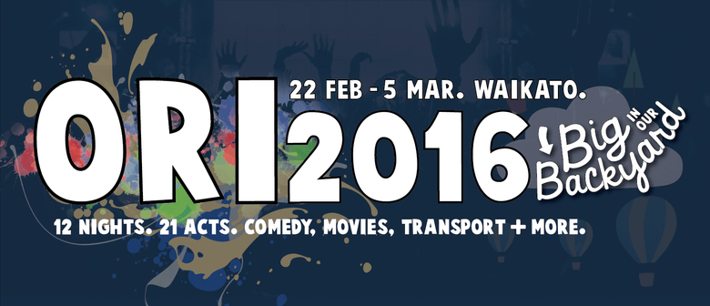 Waikato's ORI2016 - Big in Our Backyard
