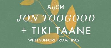 AuSM O'Week 2016: Jon Toogood & Tiki Taane Acoustic