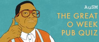 AuSM O'Week: Pub Quiz