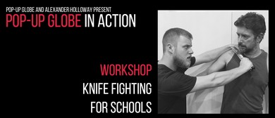 Pop-up Globe In Action: Knife Fighting For Schools