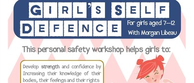 Girls Self Defence Ages 7 - 12