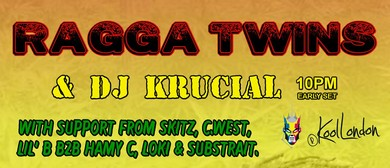 DJ Krucial and Ragga Twins