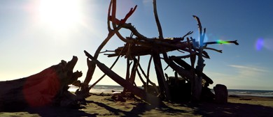Build a Fort At Himatangi Beach With the Palmy Dirty 30