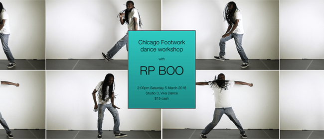 Footwork Dance Workshop with RP Boo