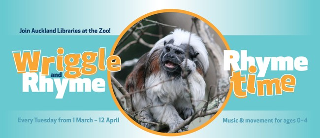 Wriggle and Rhyme at the Zoo