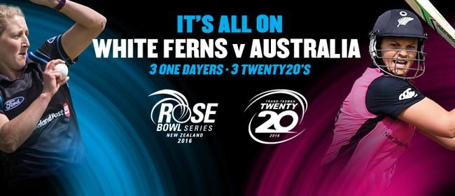 White Ferns v Australia 1st T20 International