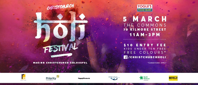 Christchurch Holi - Indian Festival of Colours
