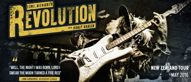 The Hendrix Revolution Tour with Randy Hansen
