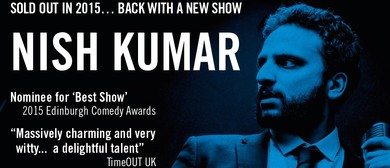 Nish Kumar:  Long Word ... BLAH BLAH .. I'm So Clever: SOLD OUT