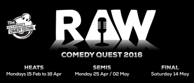 The RAW Comedy Quest - Grand Final