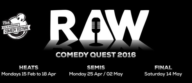 Raw Comedy Quest 2016: The Semi Finals