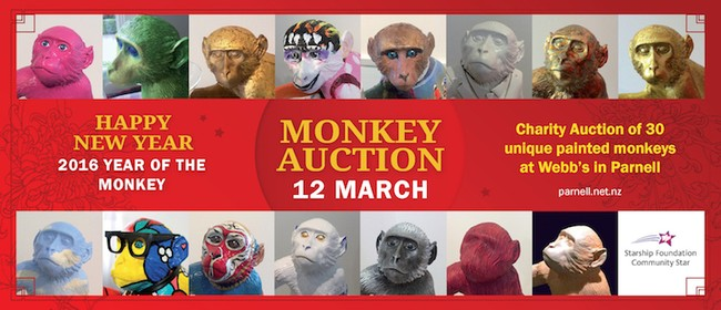 Parnell Year of the Monkey Charity Auction