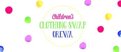 Orewa Children's Clothing Swap
