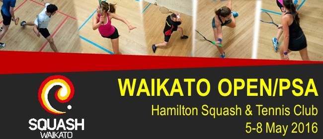 Hamilton Squash and Tennis Club Waikato Open/PSA