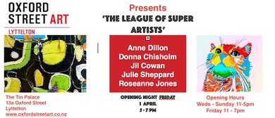The League of Super Artists