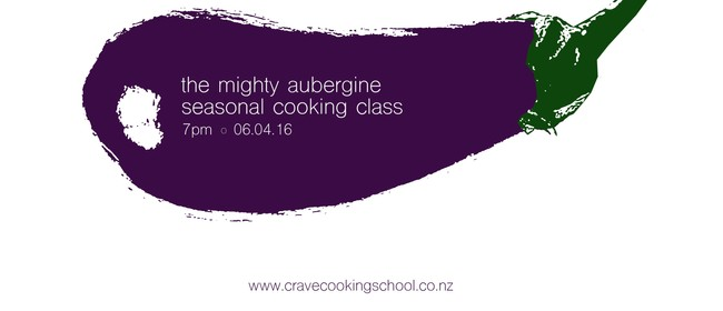 The Mighty Aubergine - Seasonal Produce Cooking Class