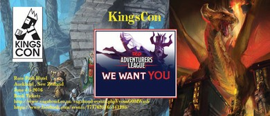 KingsCon: A D&D Adventurers League Convention
