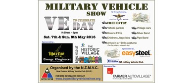 BOP Military Vehicle Show and VE Day Celebration
