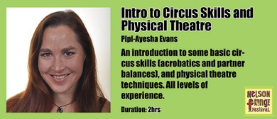 Workshop - Intro to Circus Skills and Physical Theatre