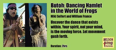 Workshop - Butoh: Dancing Hamlet in the World of Frogs