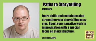 Workshop - Paths to Storytelling: SOLD OUT