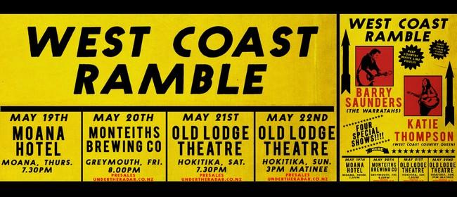 West Coast Ramble Tour
