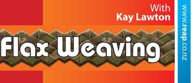 Winton Beginners Flax Weaving