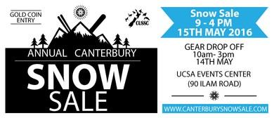 Annual Canterbury Snow Sale