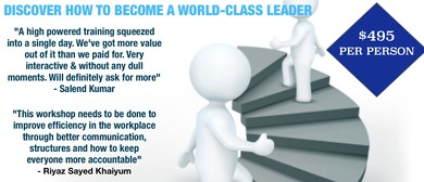 Discover How To Become a World-Class Leader